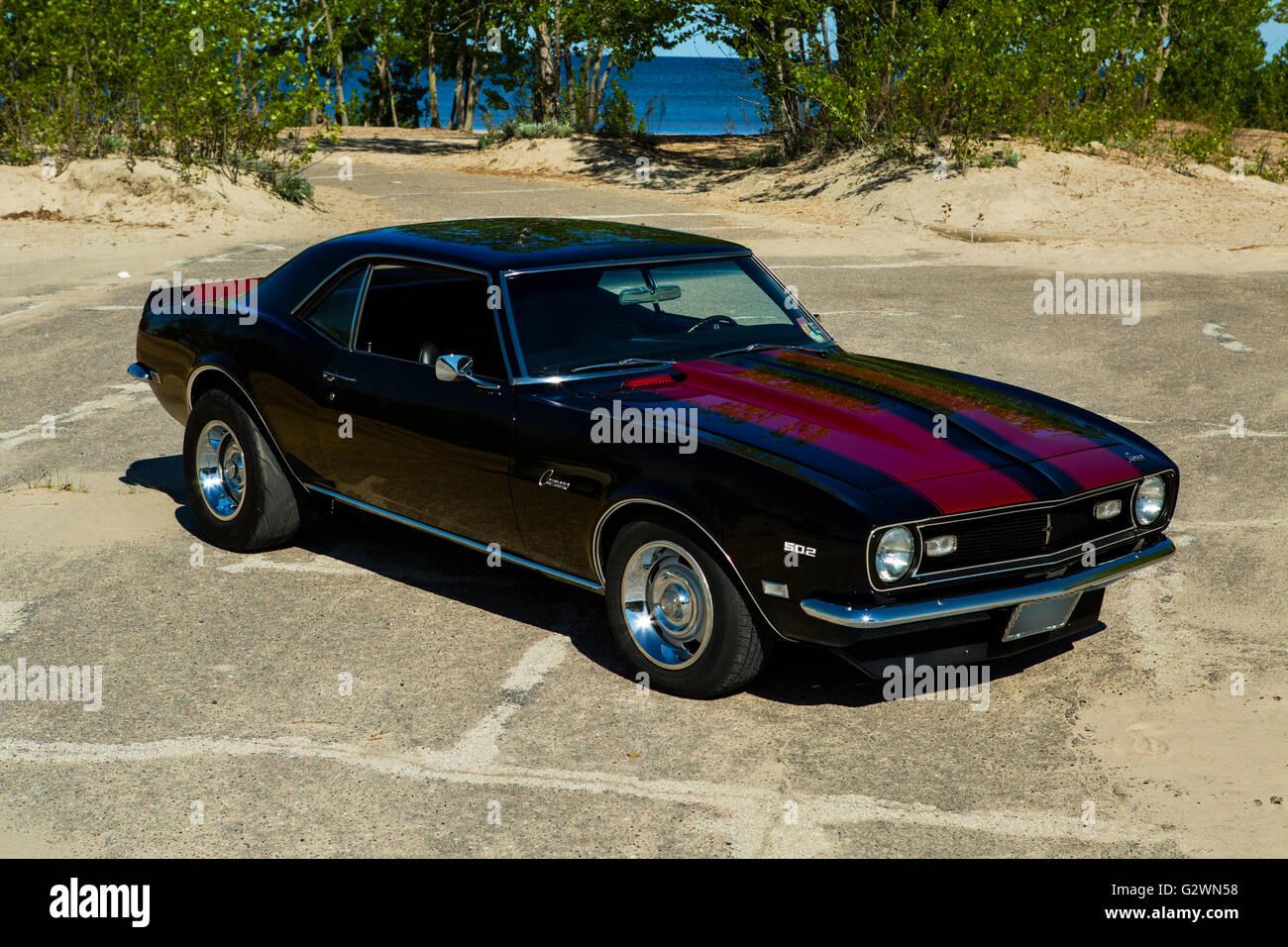 1968 Chevrolet Camaro Stockfoto Bild 105056932 Alamy Ad