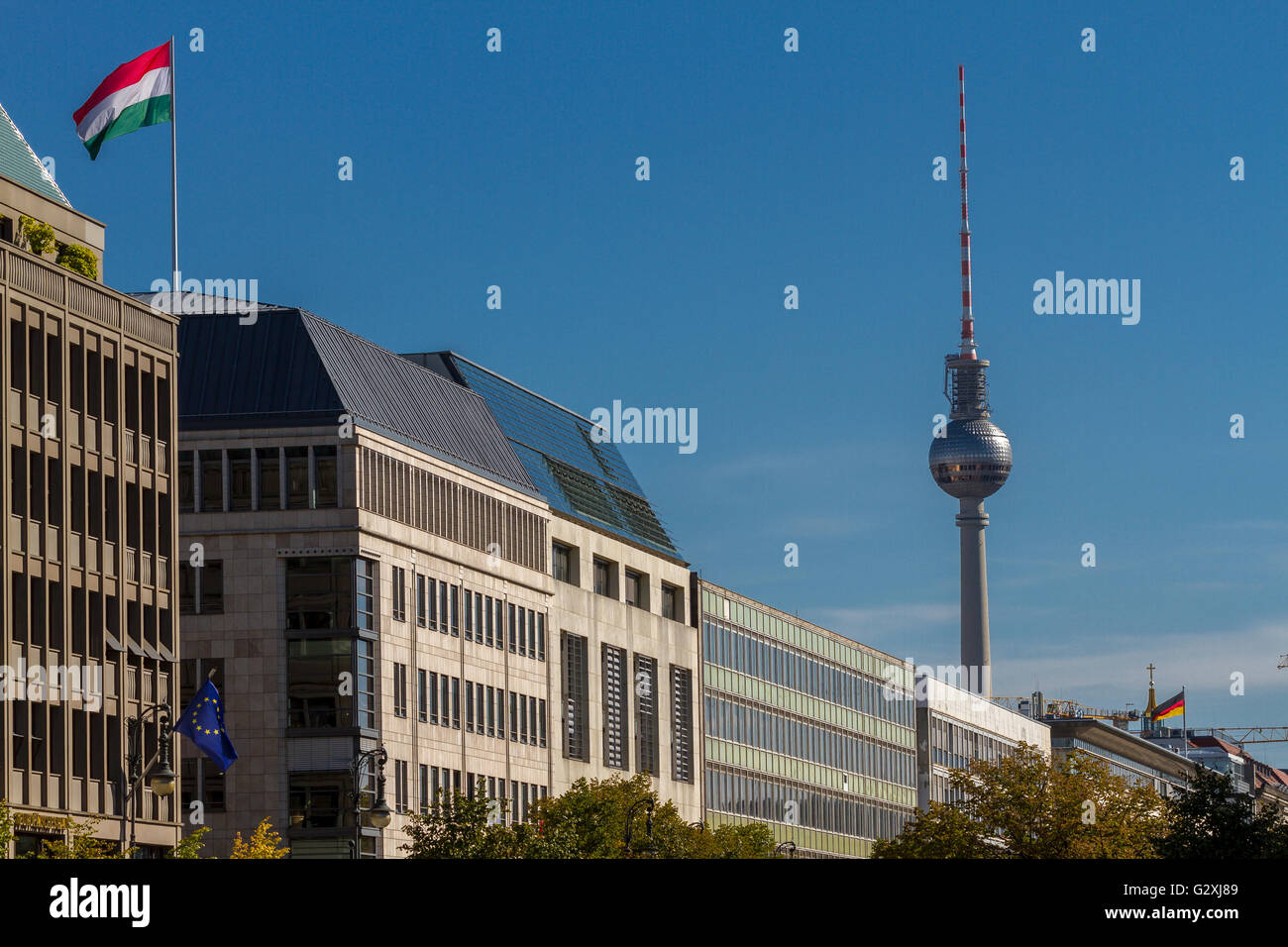 Tv Tower Restaurant Berlin Stockfotos Tv Tower Restaurant Berlin