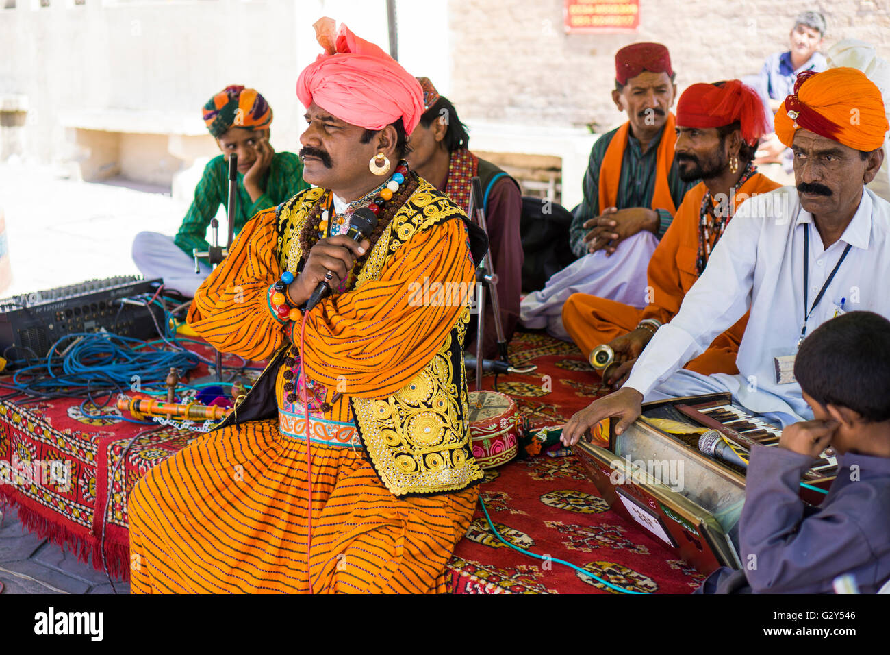 Pakistanische Naat Band Islamabad Punjab Pakistan Stockbild