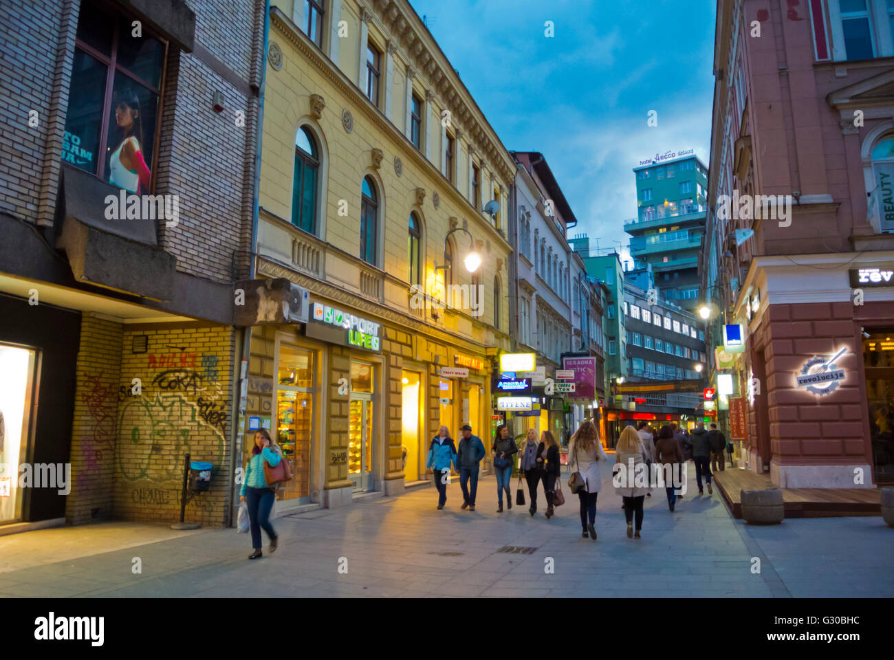 Sarajevo Town Stockfotos & Sarajevo Town Bilder - Alamy