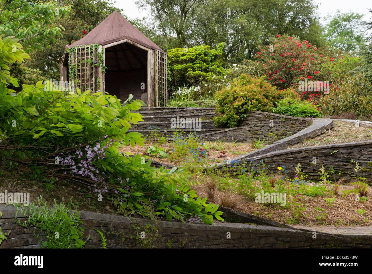 Fascinating Gartengestaltung Hang Best Choice Of Das Garden E, Devon, Uk, Die Ovale