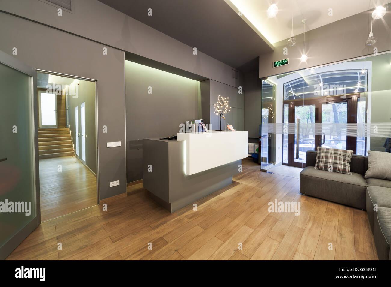 Architecture Interior Modern Reception Stockfotos & Architecture ...