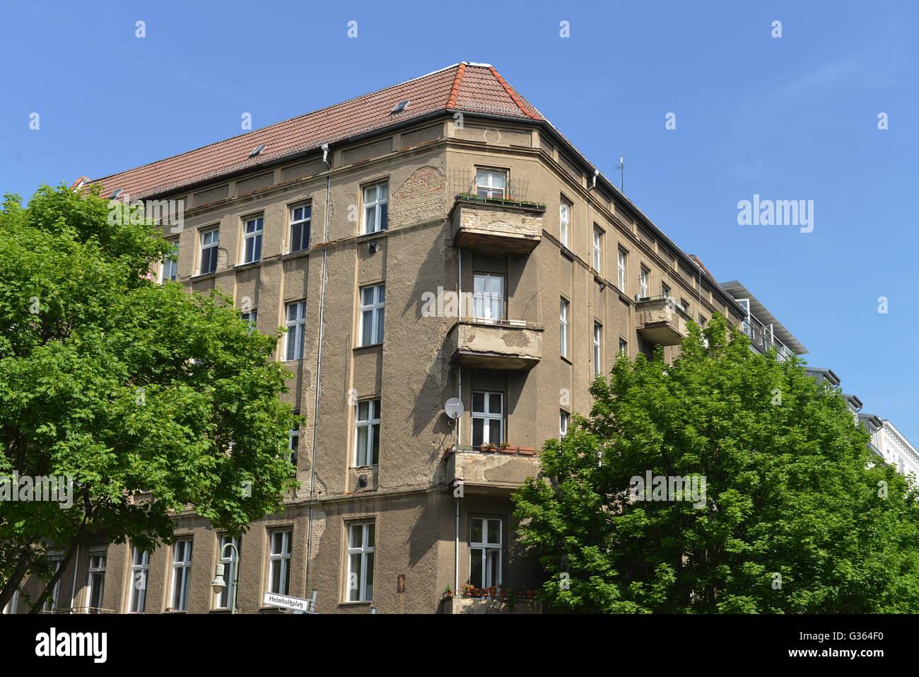 Altbau Helmholtzplatz Prenzlauer Berg Berlin Deutschland