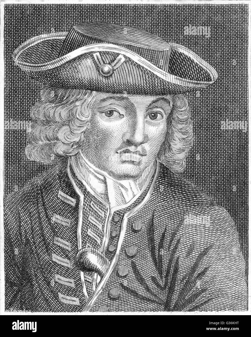 Jonathan Wild (1682?-1725), Informant und Empfänger von Diebesgut Stockbild