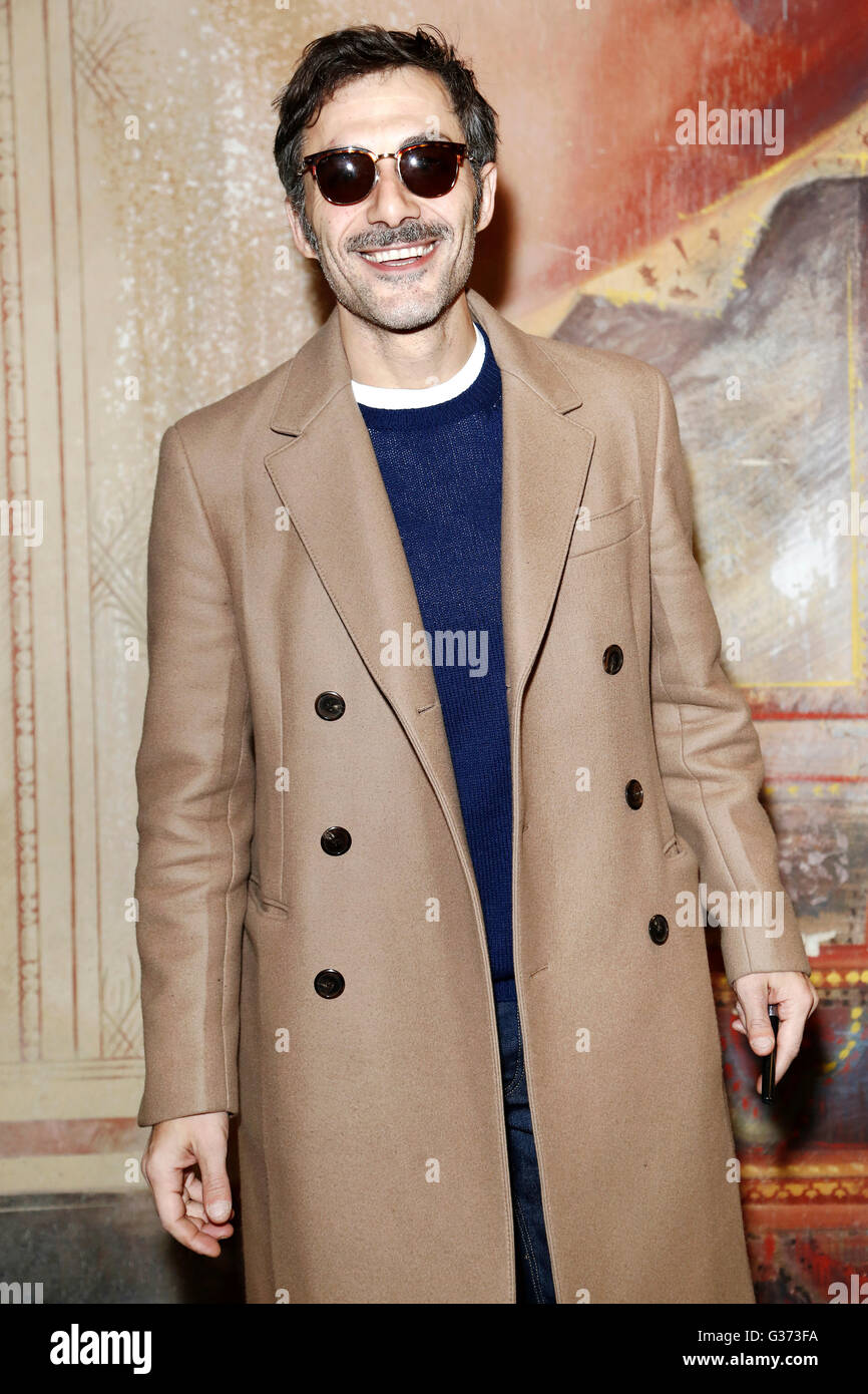 "Mailand, Italien, Januar 21: Schauspieler Filippo Timi besucht den Fototermin ""Casa di Bambola"" am 21. Stockbild"