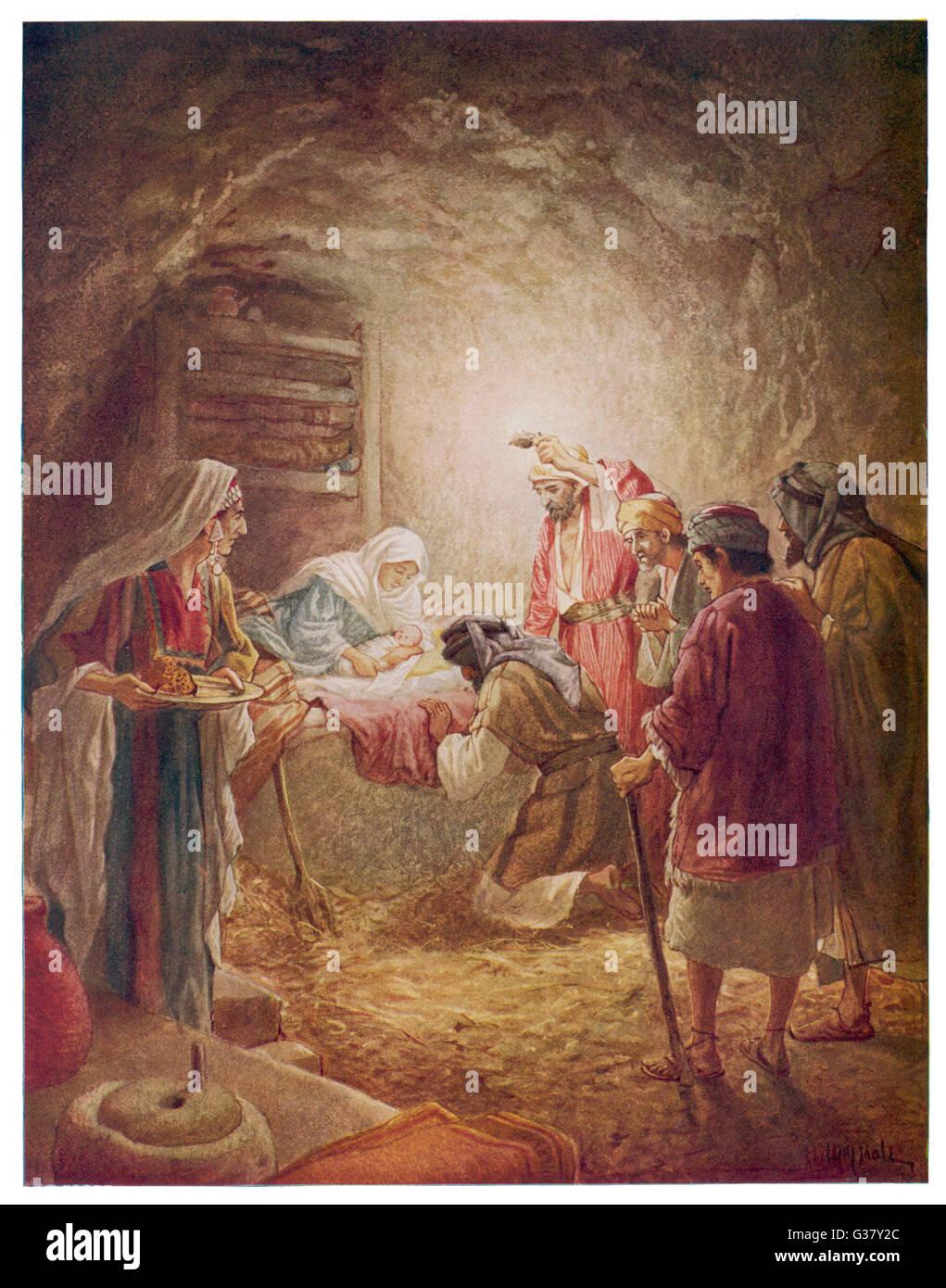 Berühmt Baby Jesus Färbung Seite Zeitgenössisch - Beispiel ...