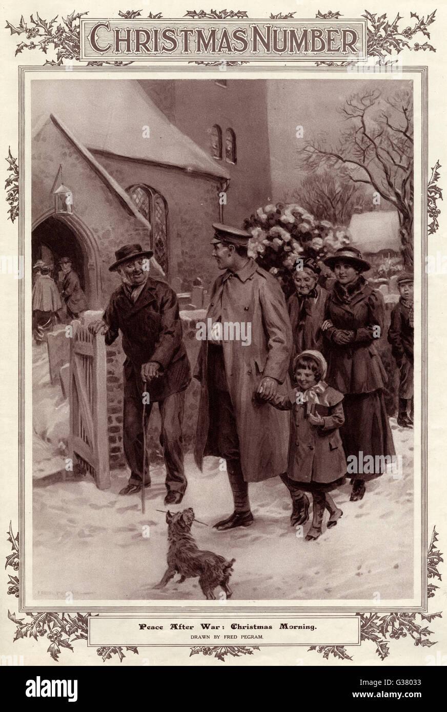 Das erste Weihnachten des Weltkrieg-ein verwundeter Soldat und seine ...