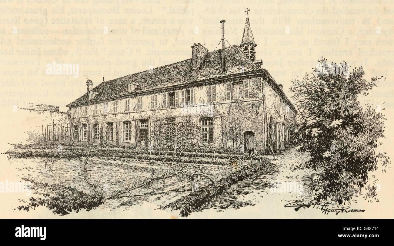 die milit rschule zu brienne getretenen napoleon im jahr 1779 im alter von zehn jahren blieb. Black Bedroom Furniture Sets. Home Design Ideas