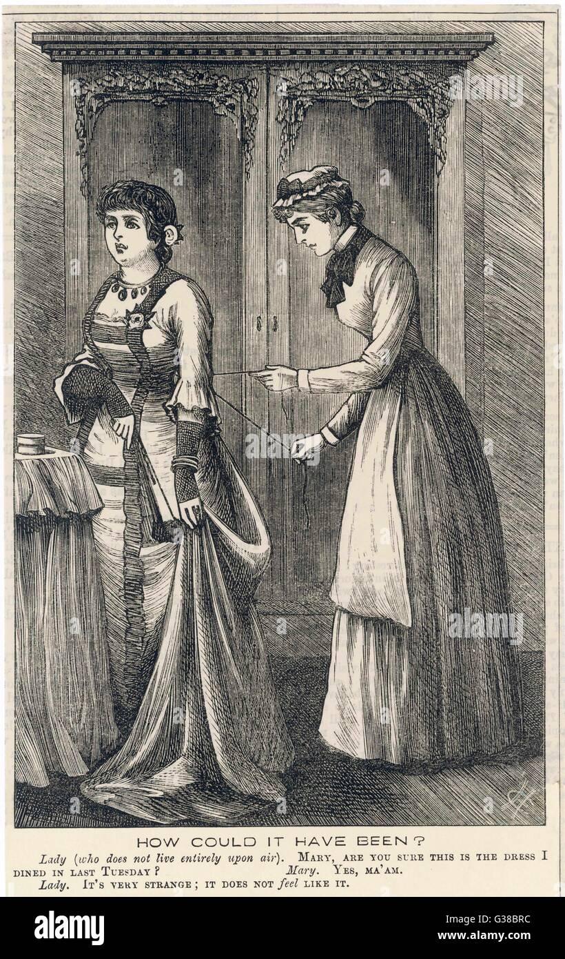 Dress As A Maid Stockfotos & Dress As A Maid Bilder - Alamy