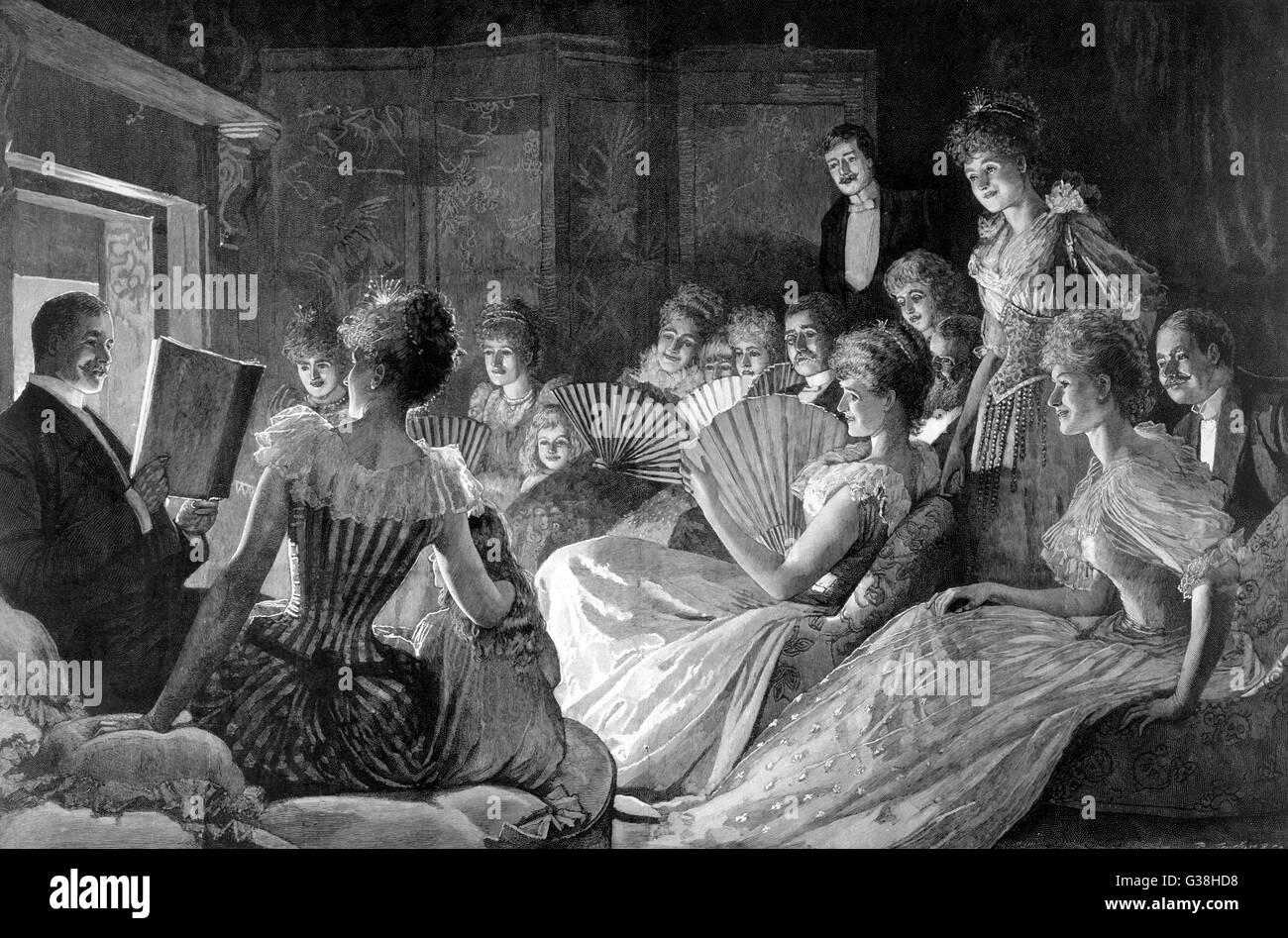 Weihnachtsfeier Geschichte.Lesen Eine Geschichte Zu Gast Im Haus Weihnachtsfeier Datum 1892