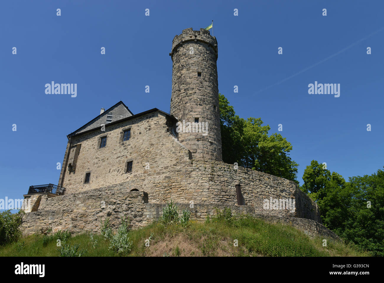 Burg greifenstein bad blankenburg th ringen deutschland for Burg greifenstein bad blankenburg