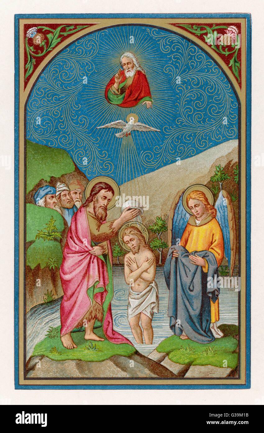 Taufe Des Heiligen Geistes Stockfotos Taufe Des Heiligen