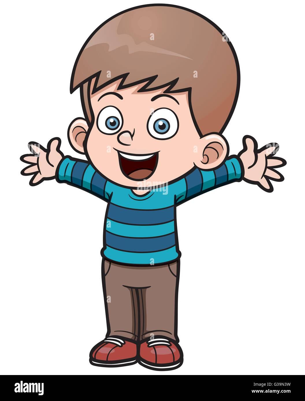 Junge Zeichentrickfilm