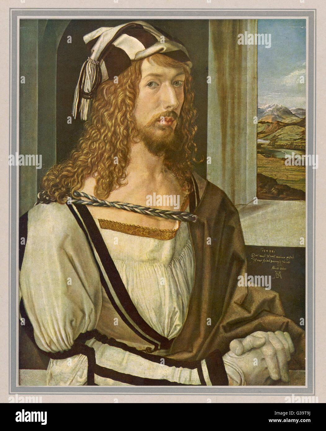 ALBRECHT Dürer, deutscher Maler und Kupferstecher Datum: 1471-1528 Stockbild