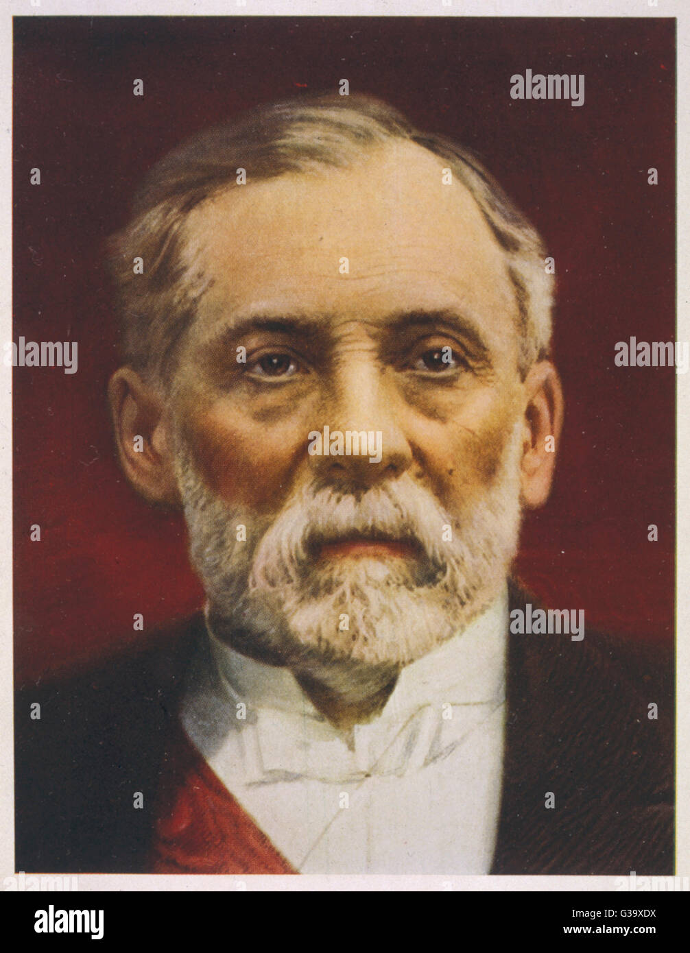 LOUIS PASTEUR (1822-1895), französischer Chemiker und Mikrobiologe im späteren Leben Stockfoto