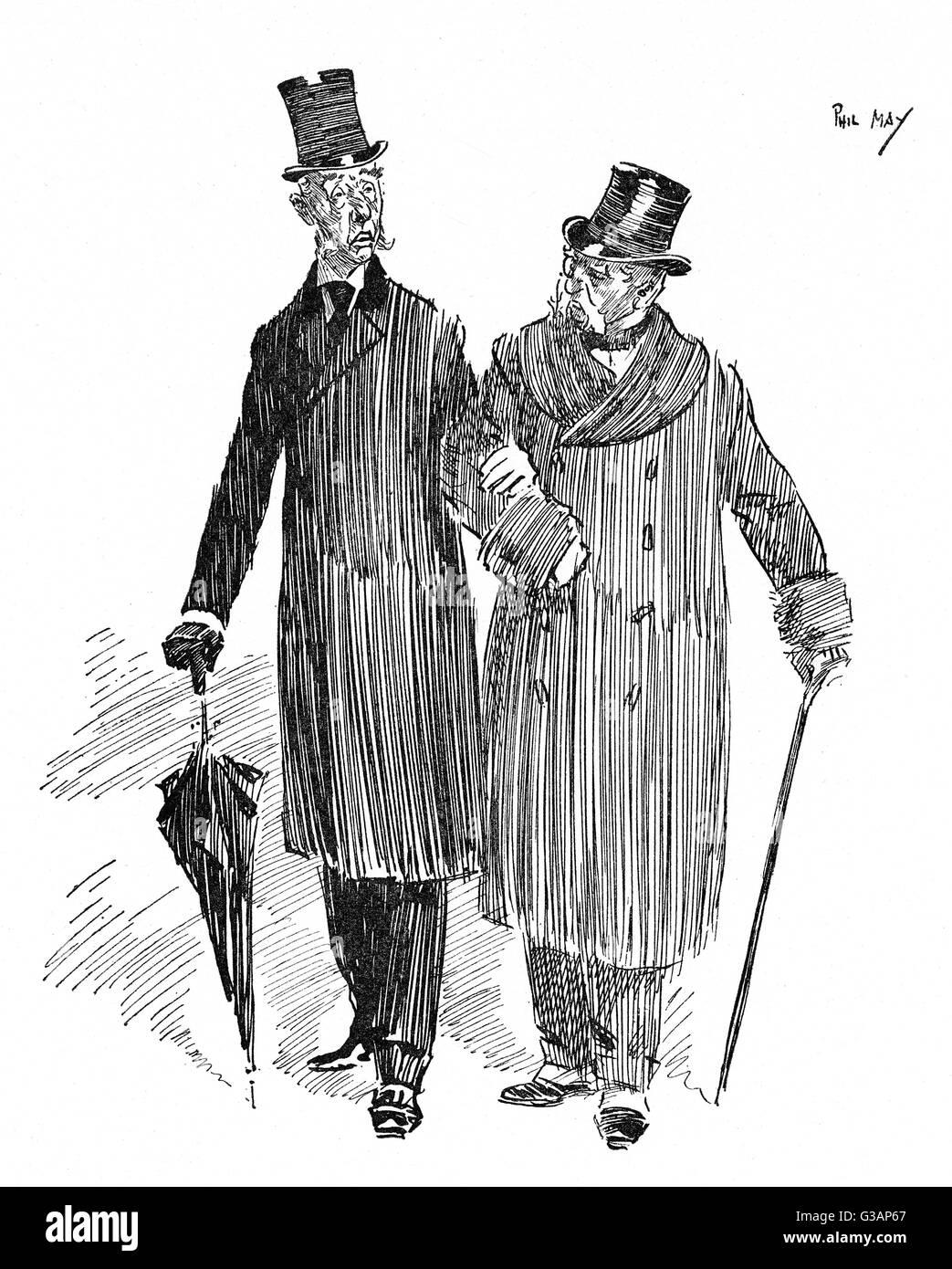 """Condoling Freund (vor kurzem Hinterbliebene Witwer) - """"es furchtbar schwer, seine Frau zu verlieren sein muss."""" Stockbild"""