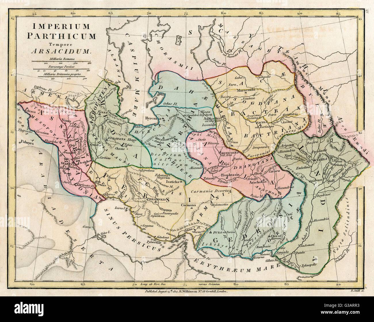 Persien Karte.Karte Von Persien Iran Datum Stockfotos Karte Von Persien Iran