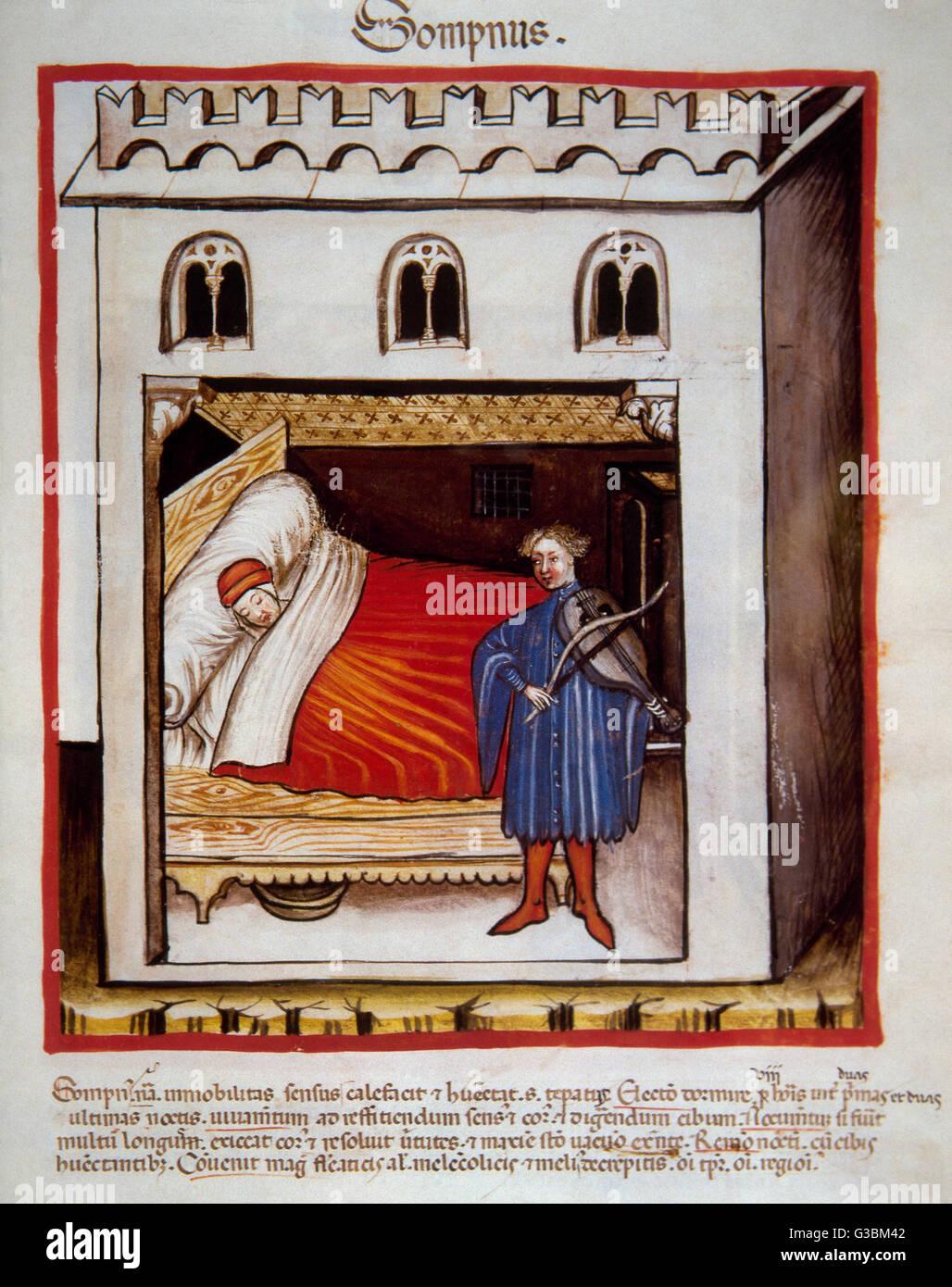 Schlafen Im Mittelalter