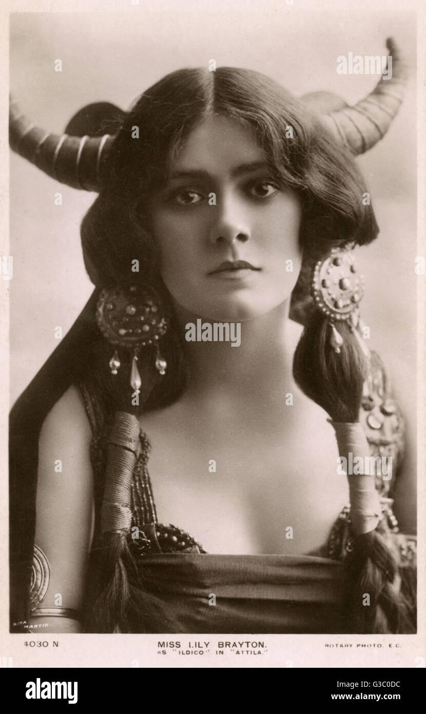 Miss Lily Brayton, Schauspielerin 15 15. In der Rolle des ...