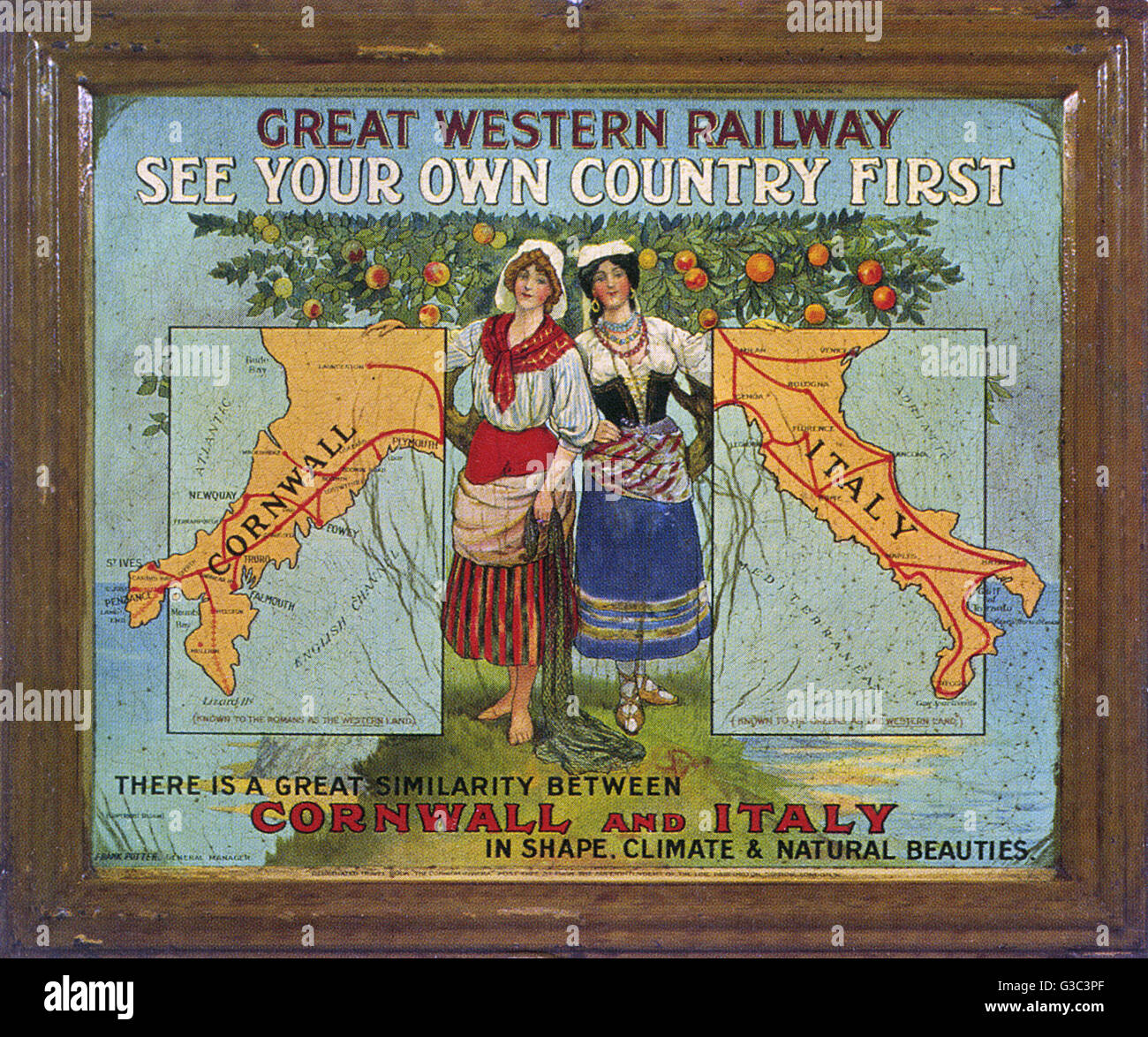 railway poster stockfotos railway poster bilder alamy. Black Bedroom Furniture Sets. Home Design Ideas