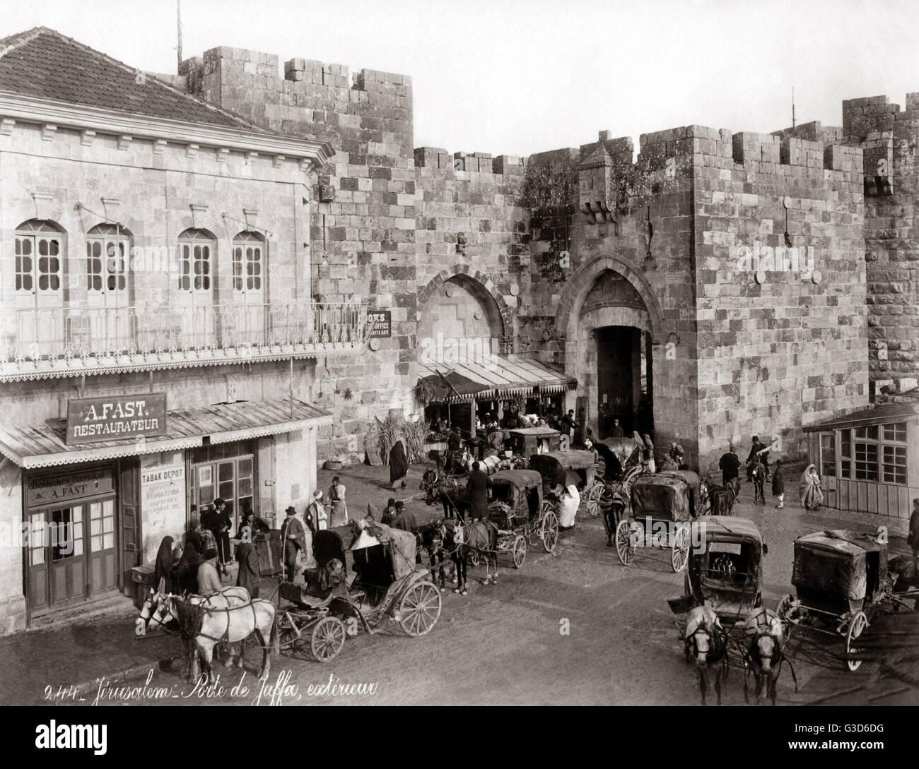 Jerusalem ca. 1980er Jahre.     Datum: ca. 1980er Jahre Stockbild