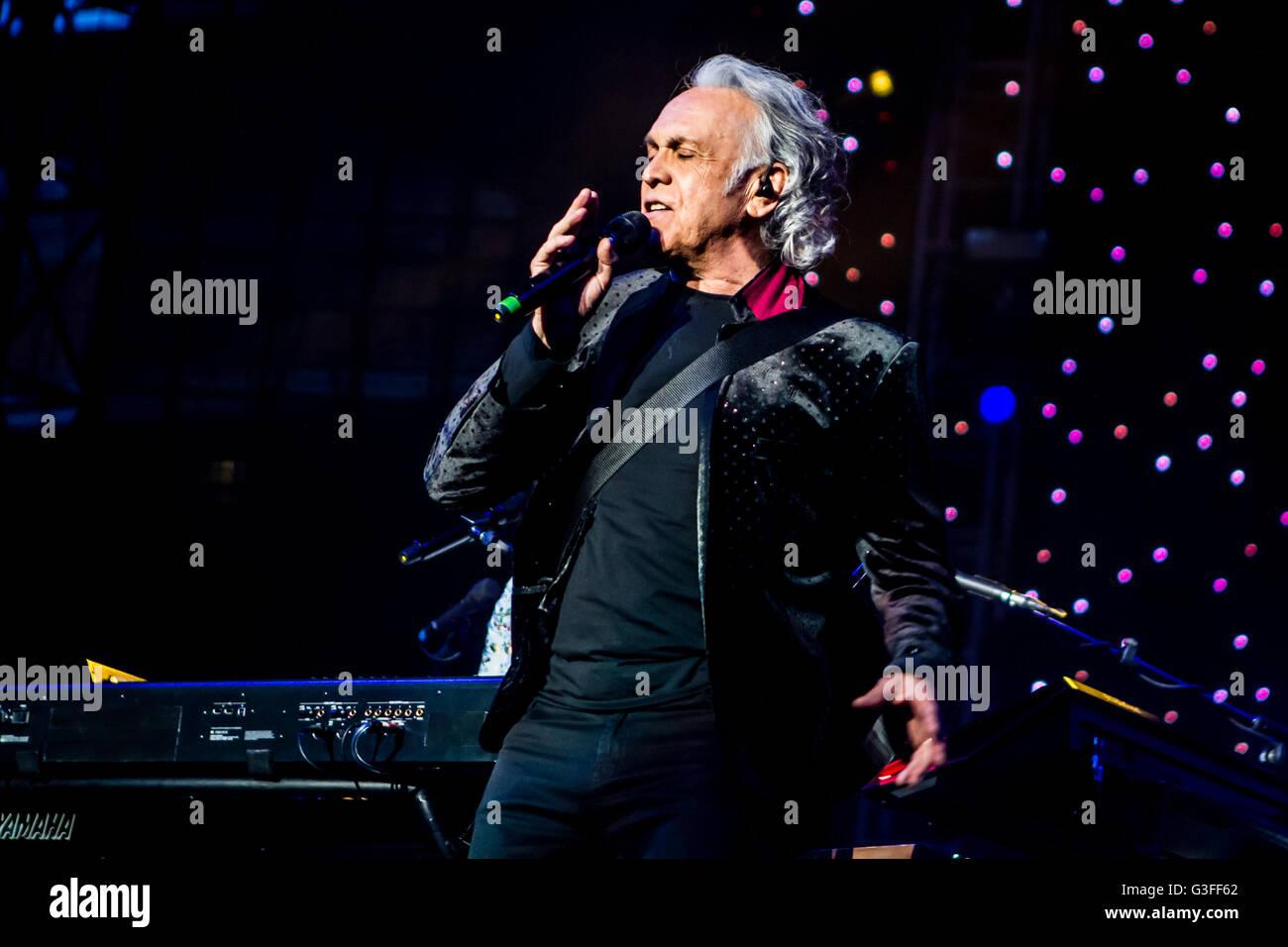 Mlano, Italien. 10. Juni 2016. Puuh führt live im Stadio San Siro in Mailand, Italien, am 10. Juni 2016, für Stockbild
