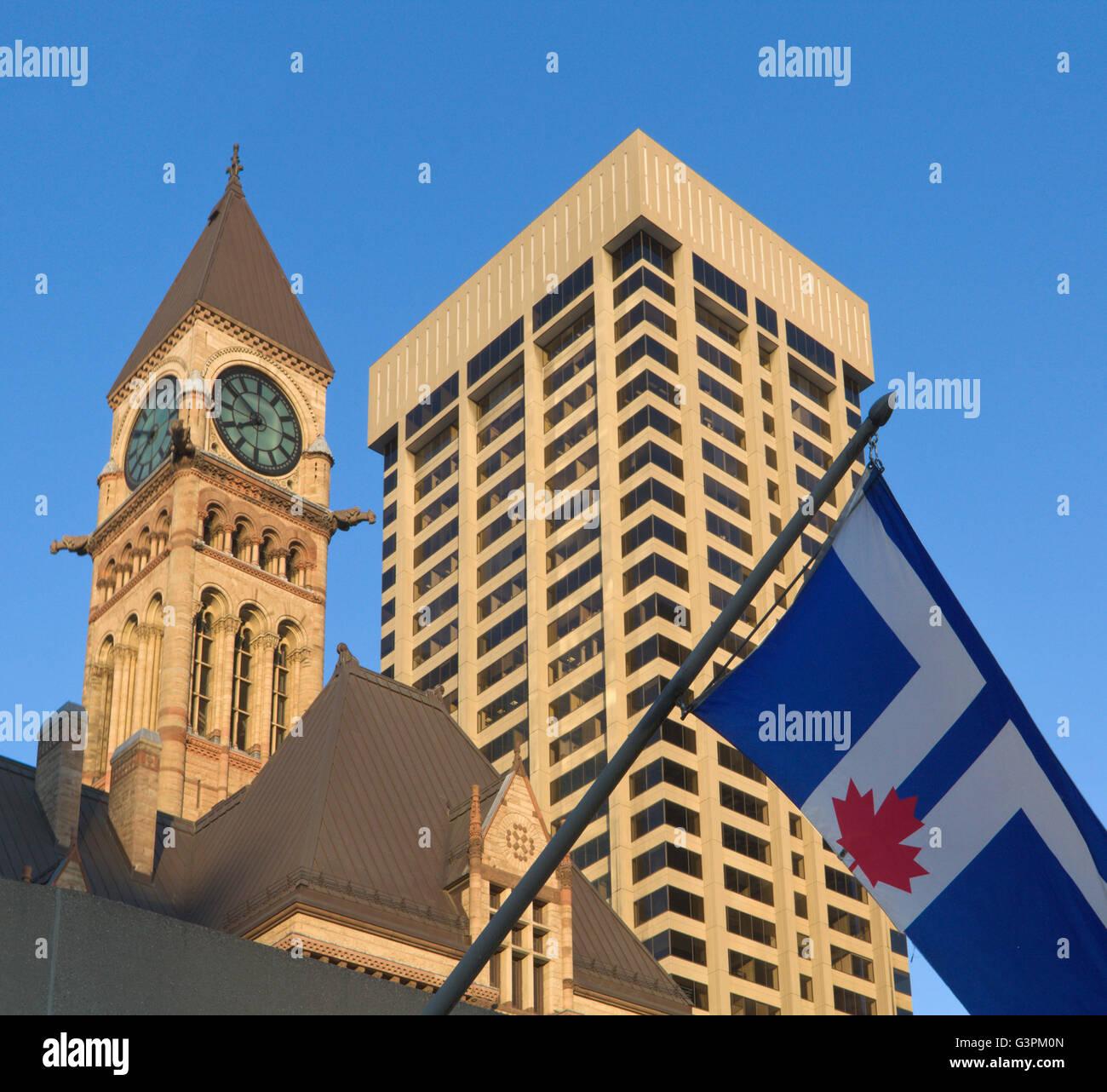 Toronto zeitgenössischer Architektur Stockbild