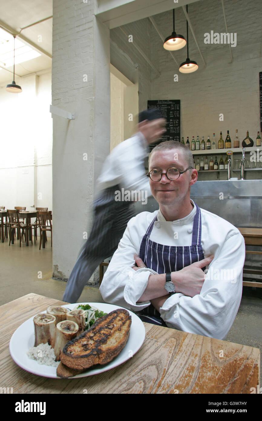 Fergus Henderson Küchenchef und Inhaber in St. John Bar und ...