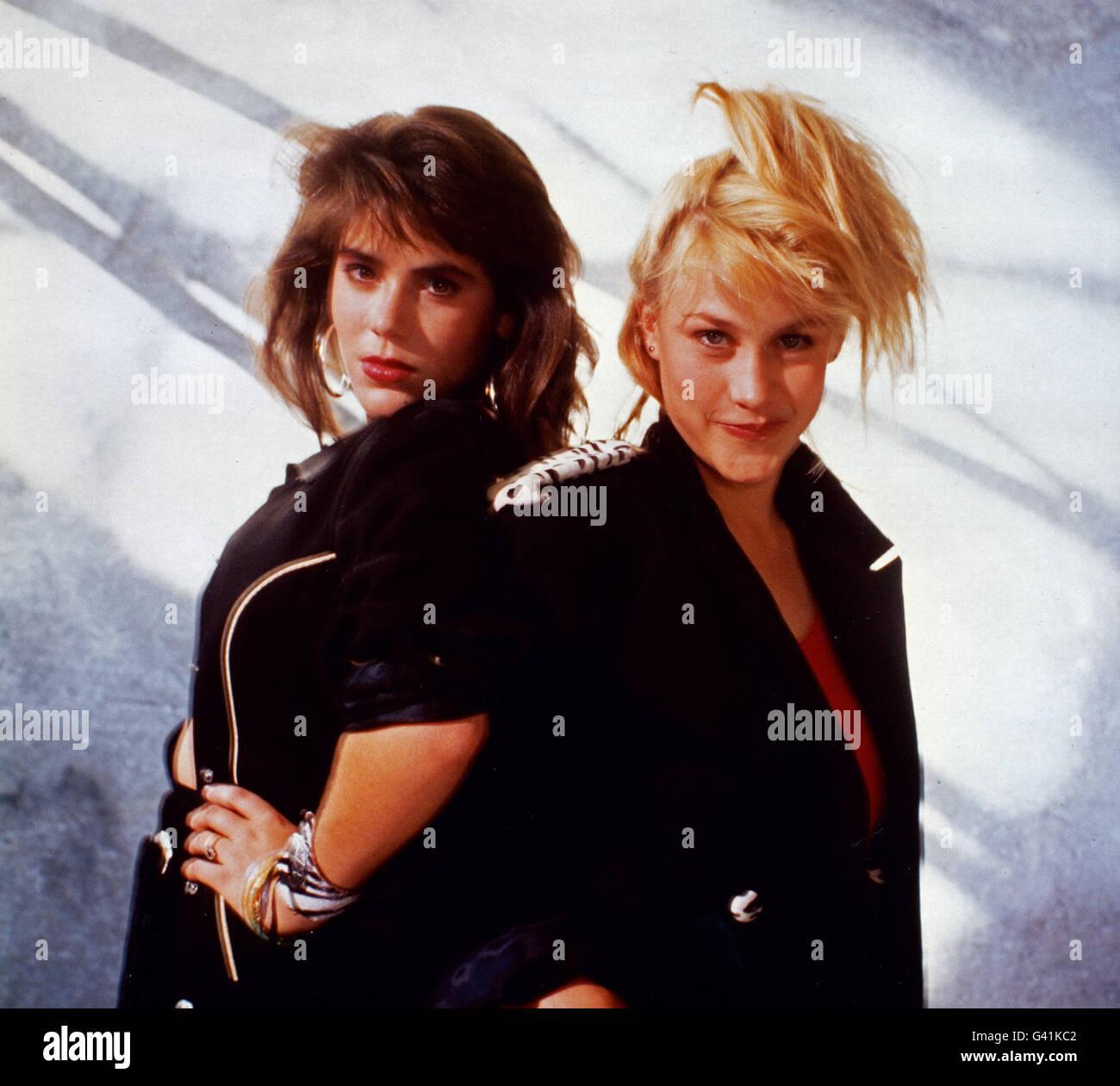 Ziemlich clever, aka: sterben Bikini Einfällen, USA 1987, Regie: Dimitri Logothesis, Monia: Trisha Leigh Fisher Stockbild