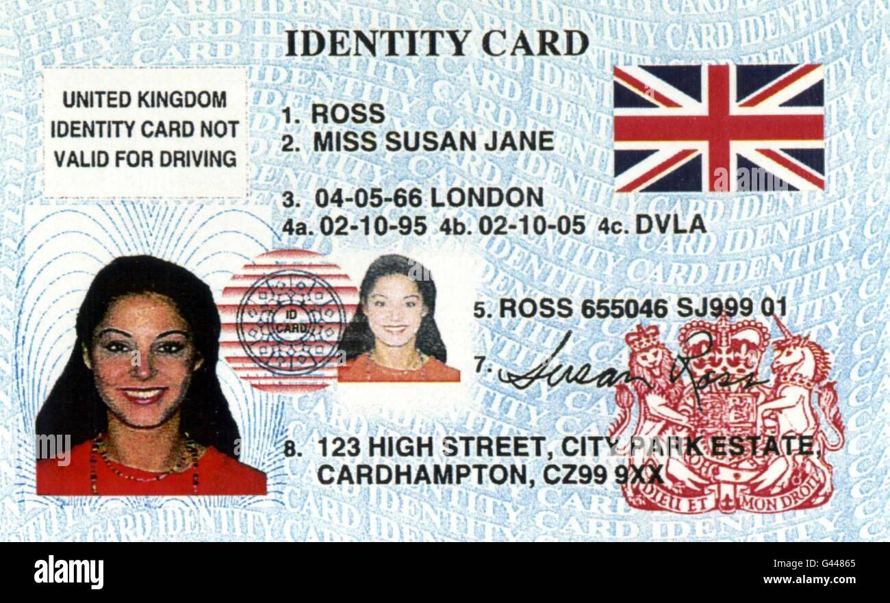 großbritannien personalausweis