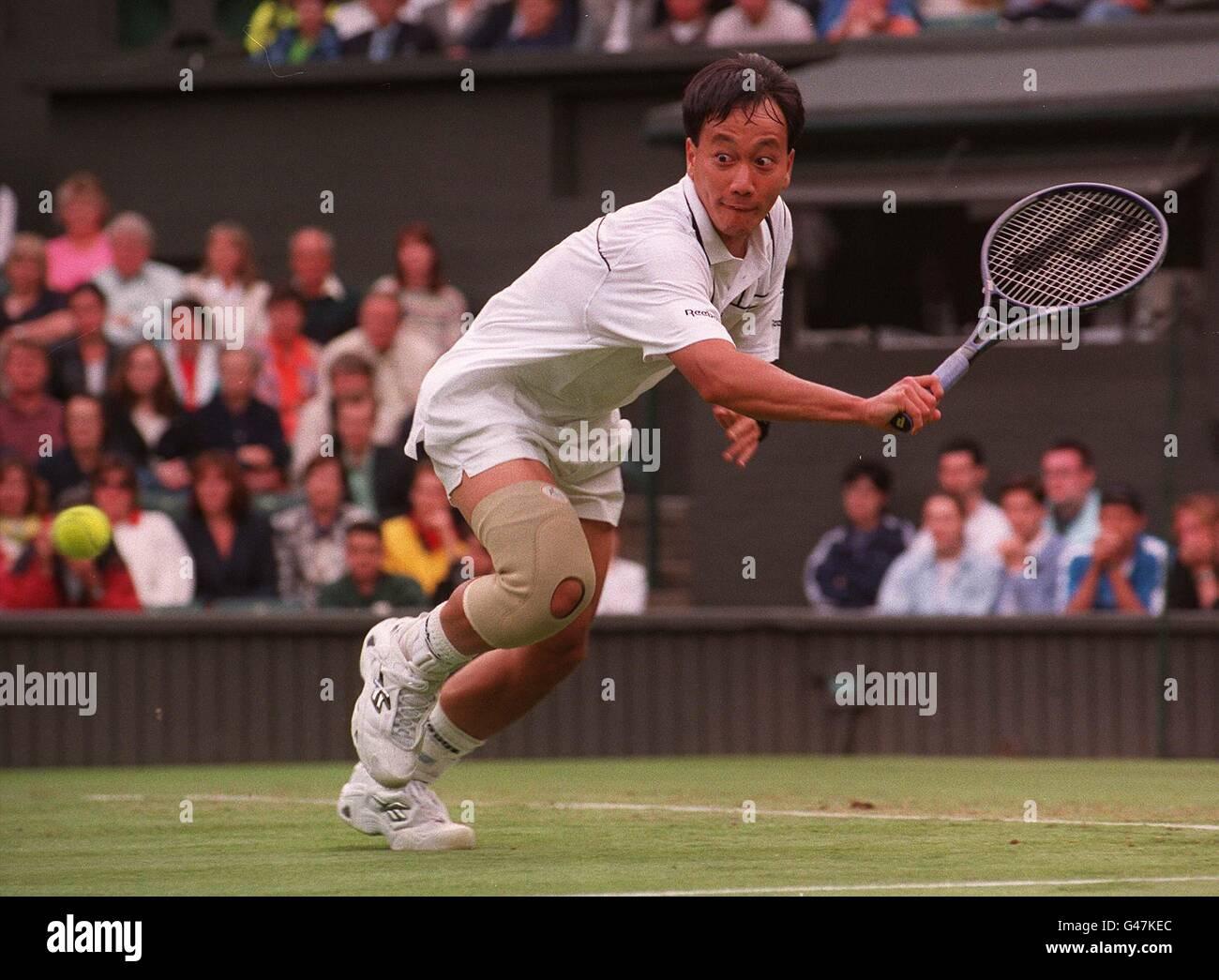 Tennis Michael Chang Stockfoto Bild 105889796 Alamy