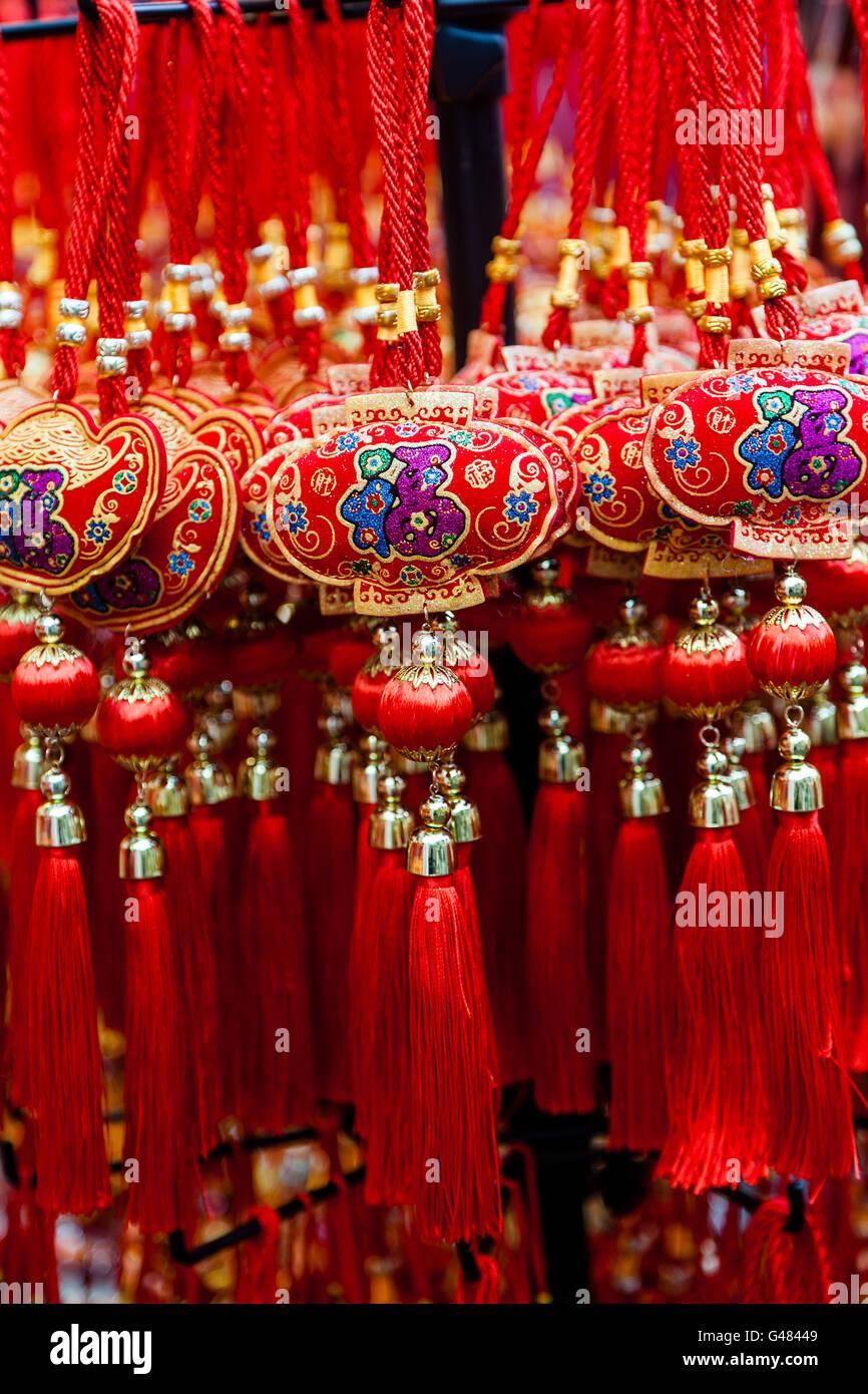 Chinese New Year Ornamente auf Verkauf. Diese gemeinsame Ornamente ...