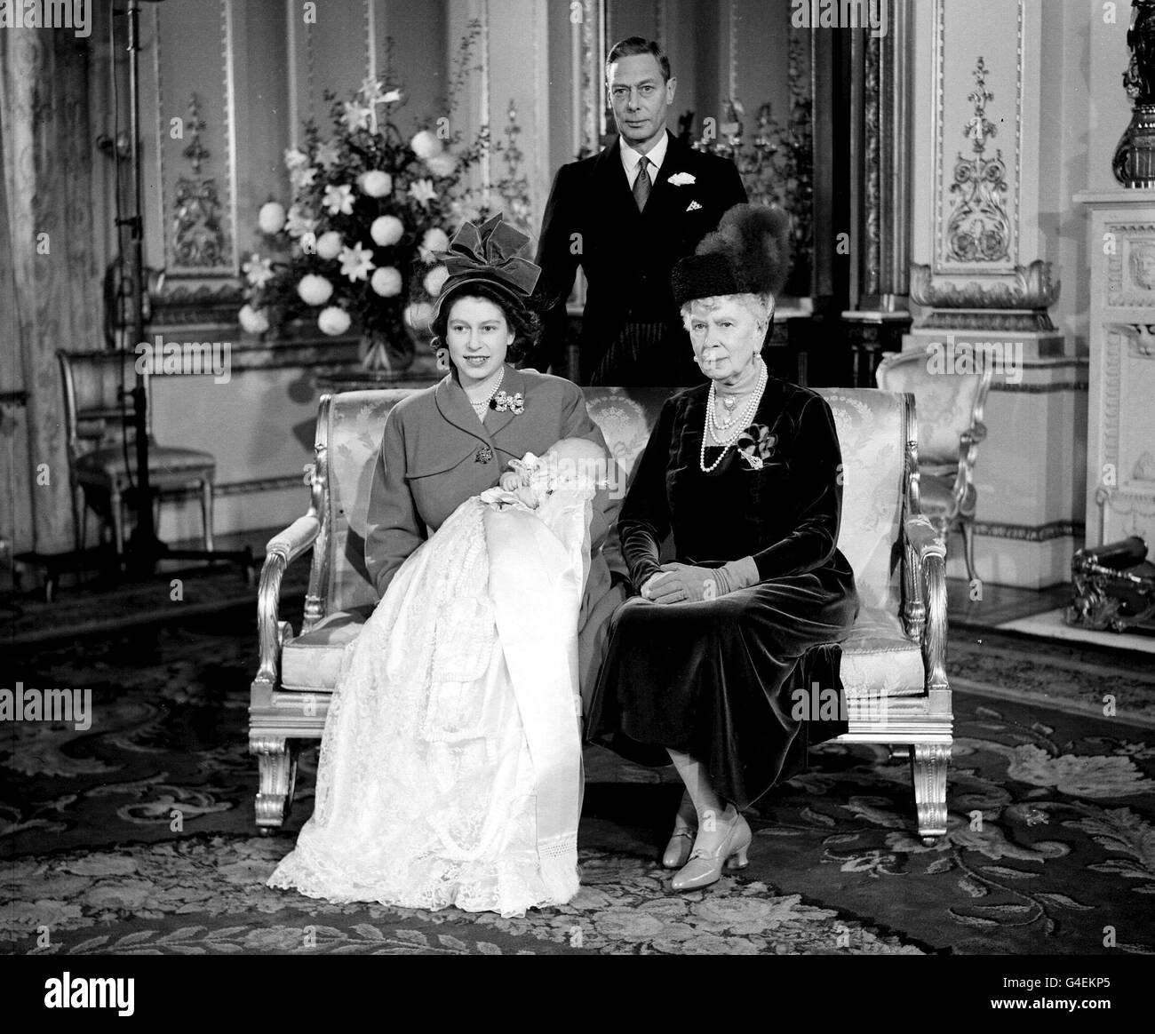 Royalty Taufe Von Prinz Charles Buckingham Palace