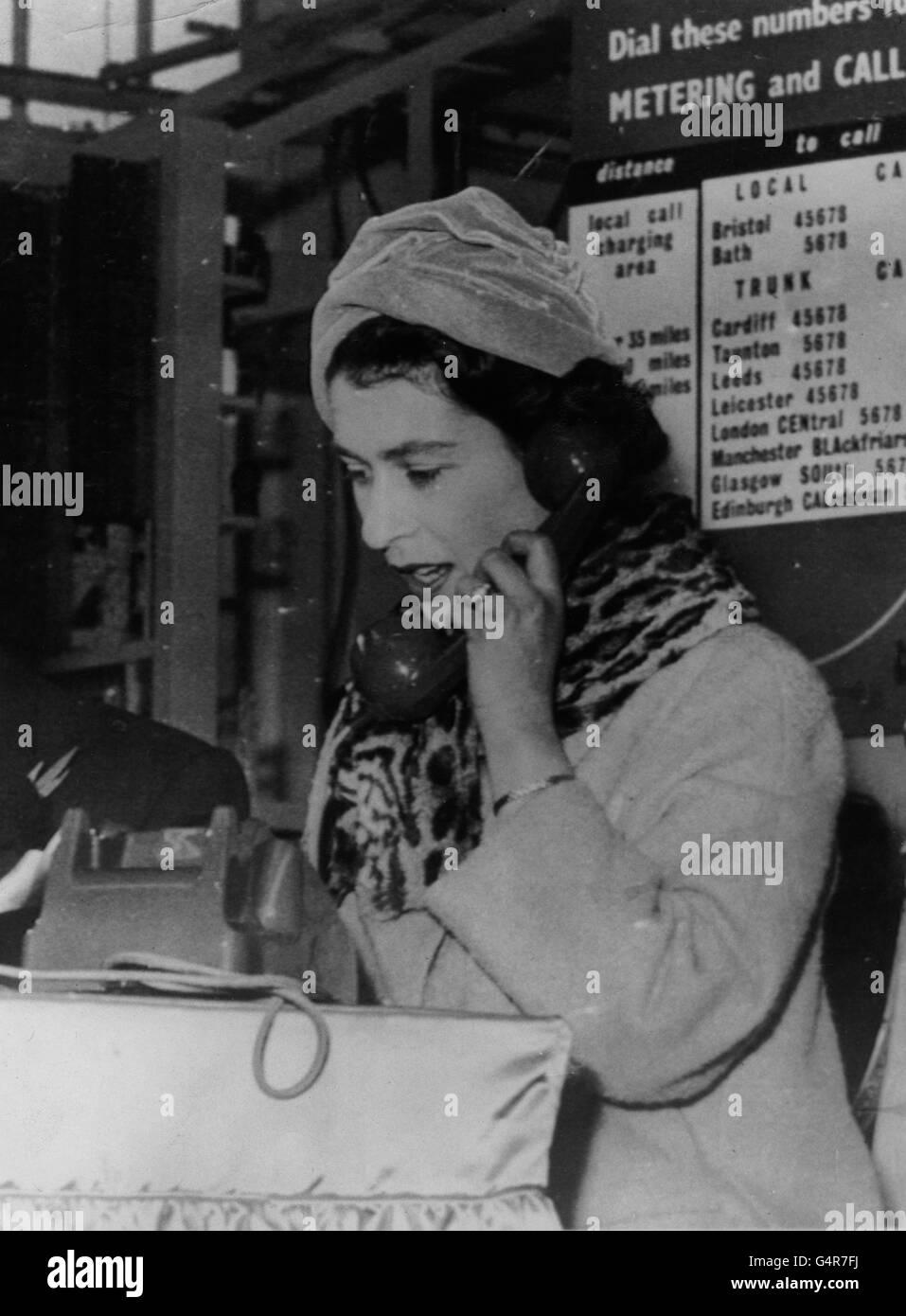 First Telephone Exchange Stockfotos & First Telephone Exchange ...