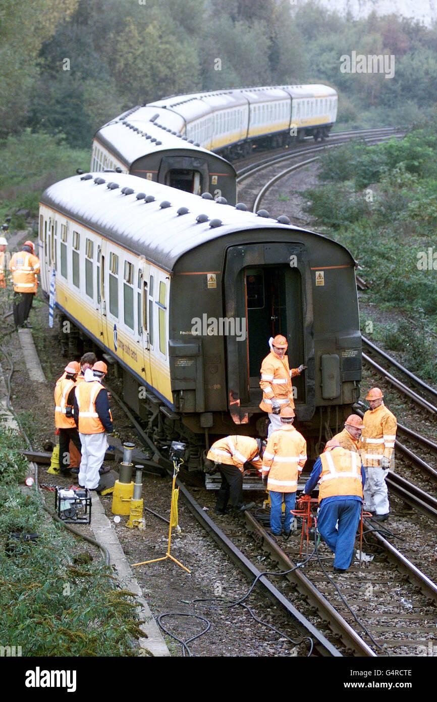 Following The Paddington Rail Crash Stockfotos & Following The ...