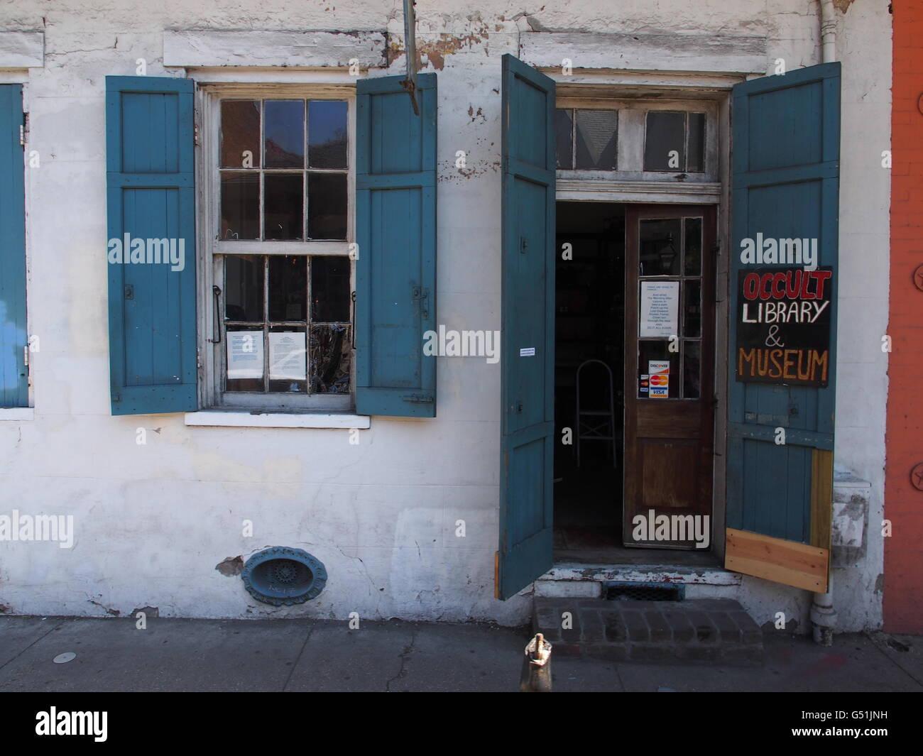 """""""New Orleans okkulten Store"""" Stockbild"""