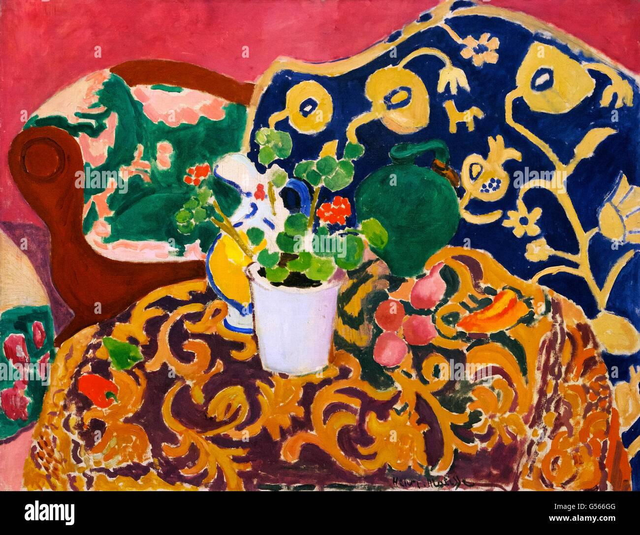 spanischen stillleben von henri matisse 1910 staatliche eremitage sankt petersburg russland. Black Bedroom Furniture Sets. Home Design Ideas