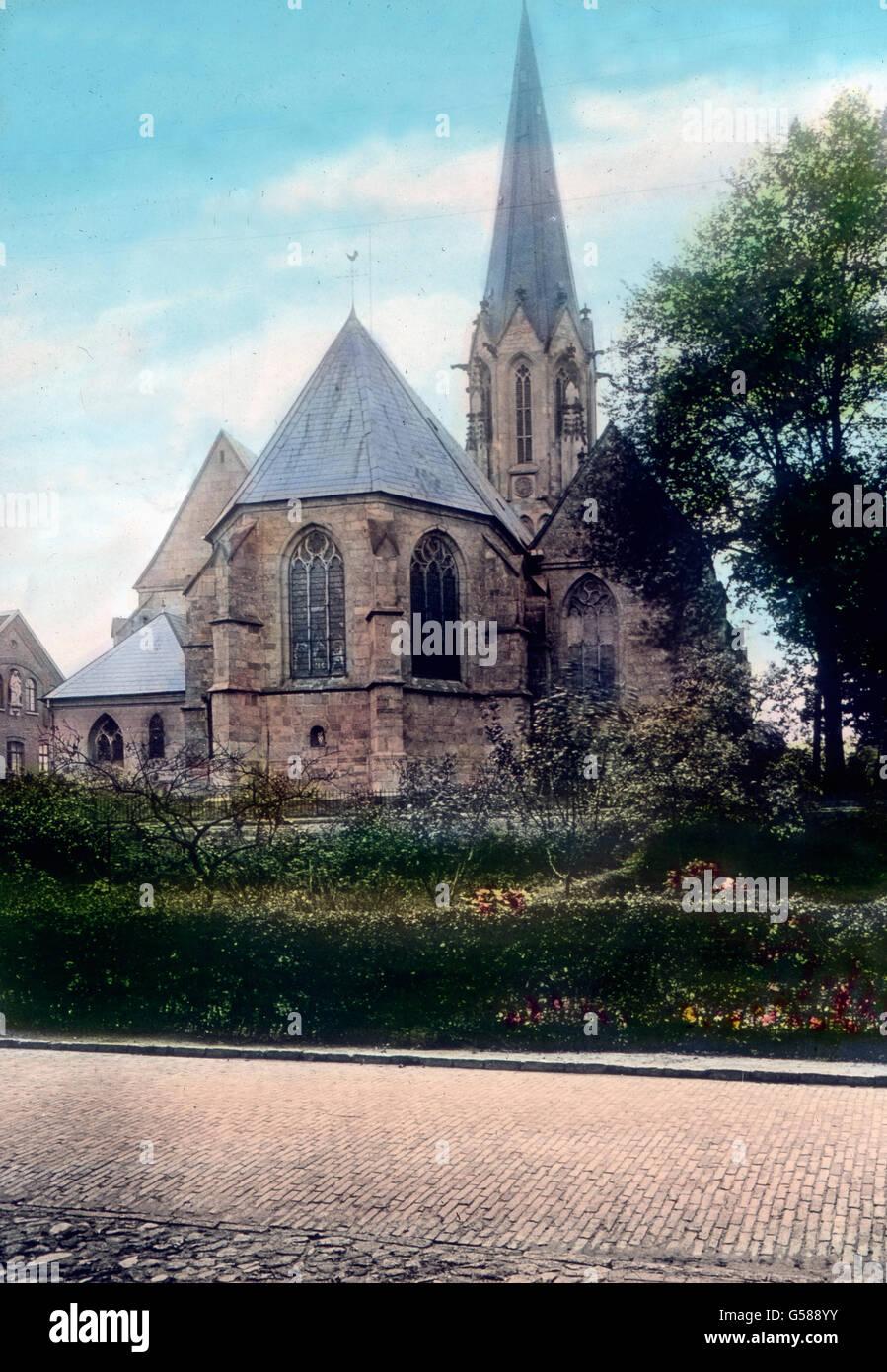 In der Provinz Hannover Finden Wir in Kleineren wieder Und in Kräften öffentlichen Überaus Interessante Stockbild