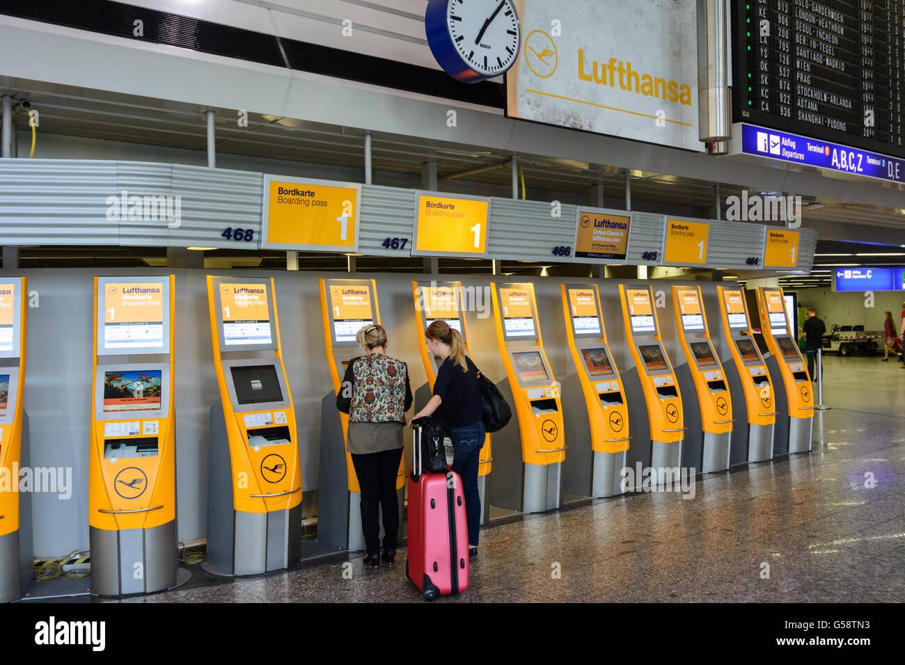 Ankunftsplan Flughafen Frankfurt