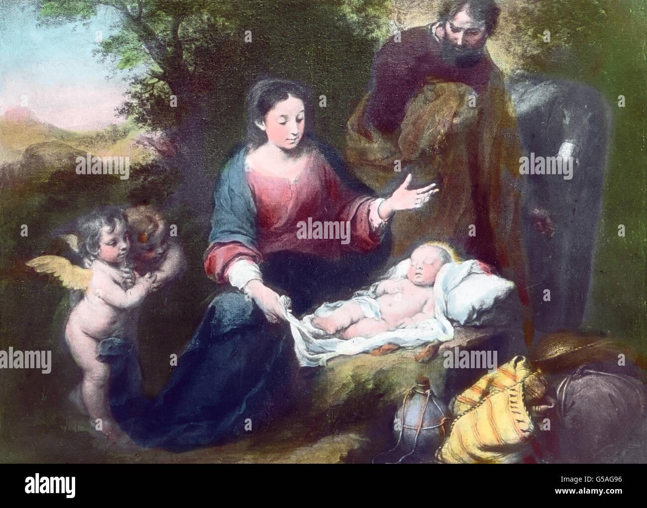 Mit Gemälde Von An Stockfotos & Mit Gemälde Von An Bilder - Alamy
