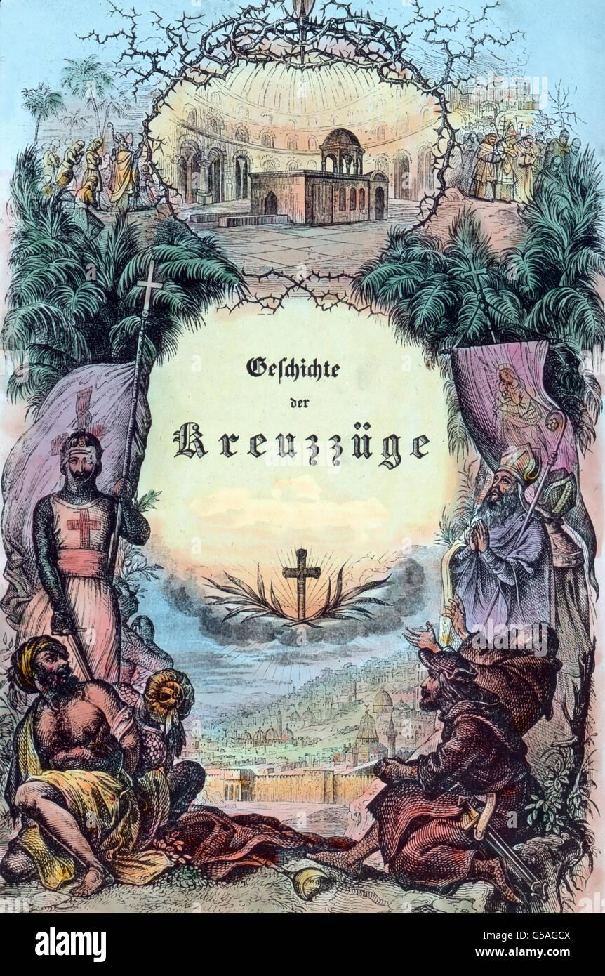 Diskriminierungsschutz Und Titelblatt Geschichte Der Kreuzzüge