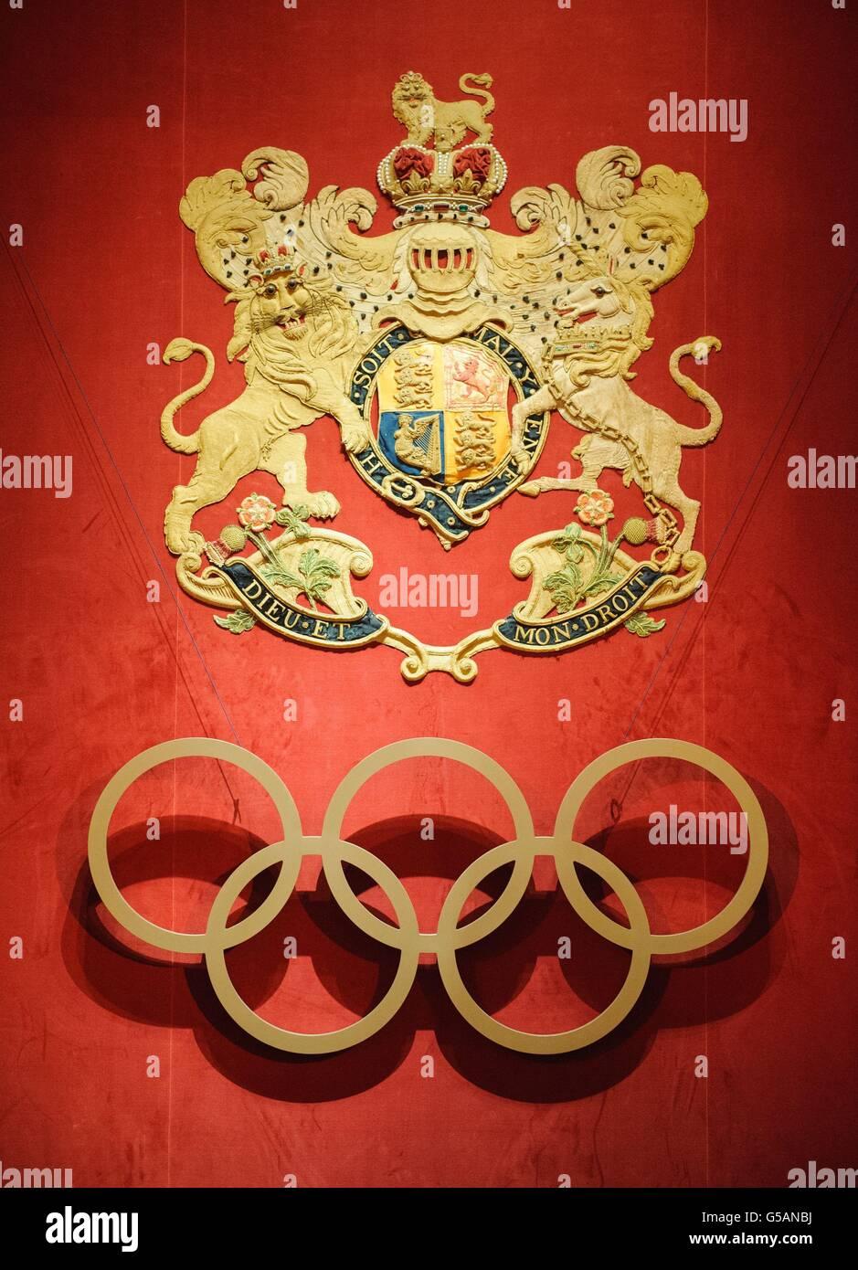 Internationales Olympisches Komitee-Rezeption Stockfoto
