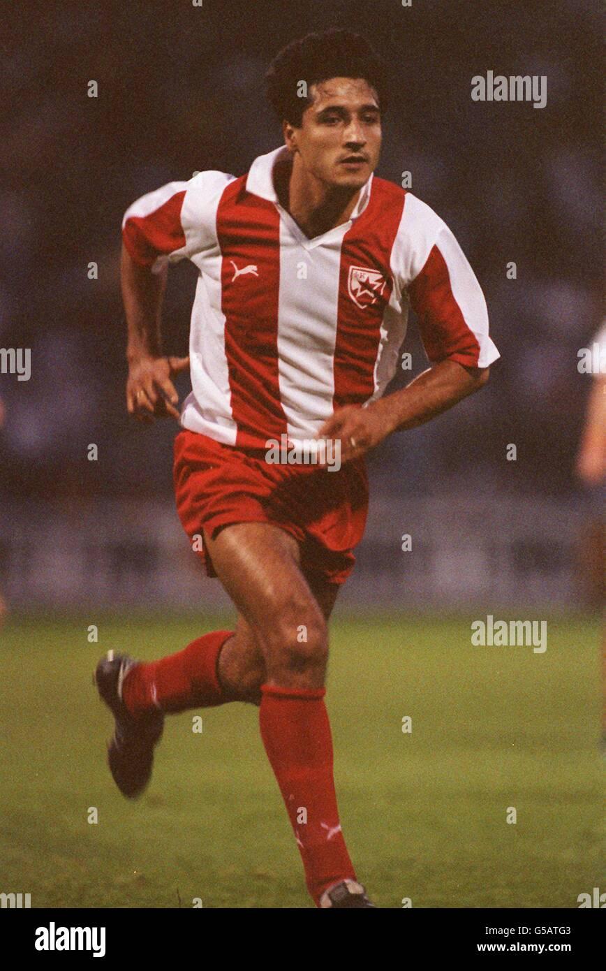 Fussball Roter Stern Belgrad Stockfoto Bild 106574275 Alamy