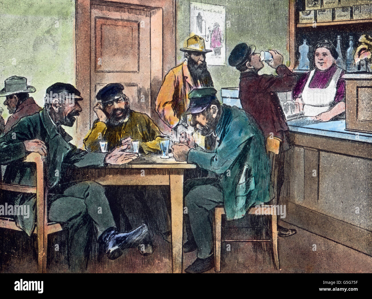 Drinking Bar 1910s Stockfotos & Drinking Bar 1910s Bilder - Alamy