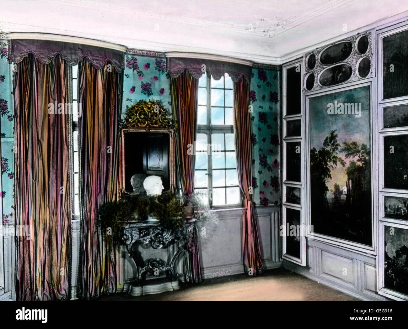 Das Seekatzzimmer Im Goethehaus. Das Seekatz Zimmer hat seinen Namen ...