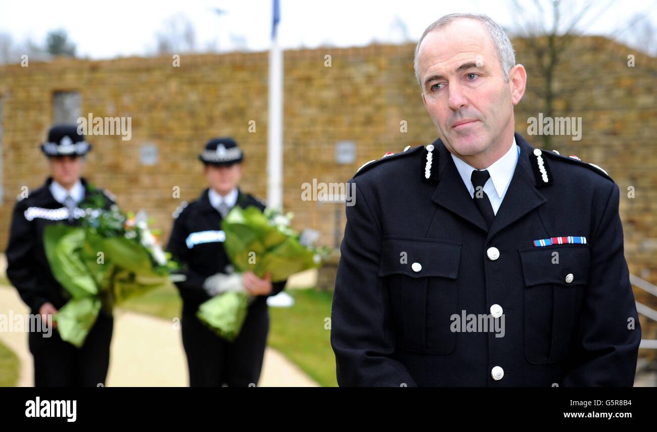 Polizist Tod Stockbild