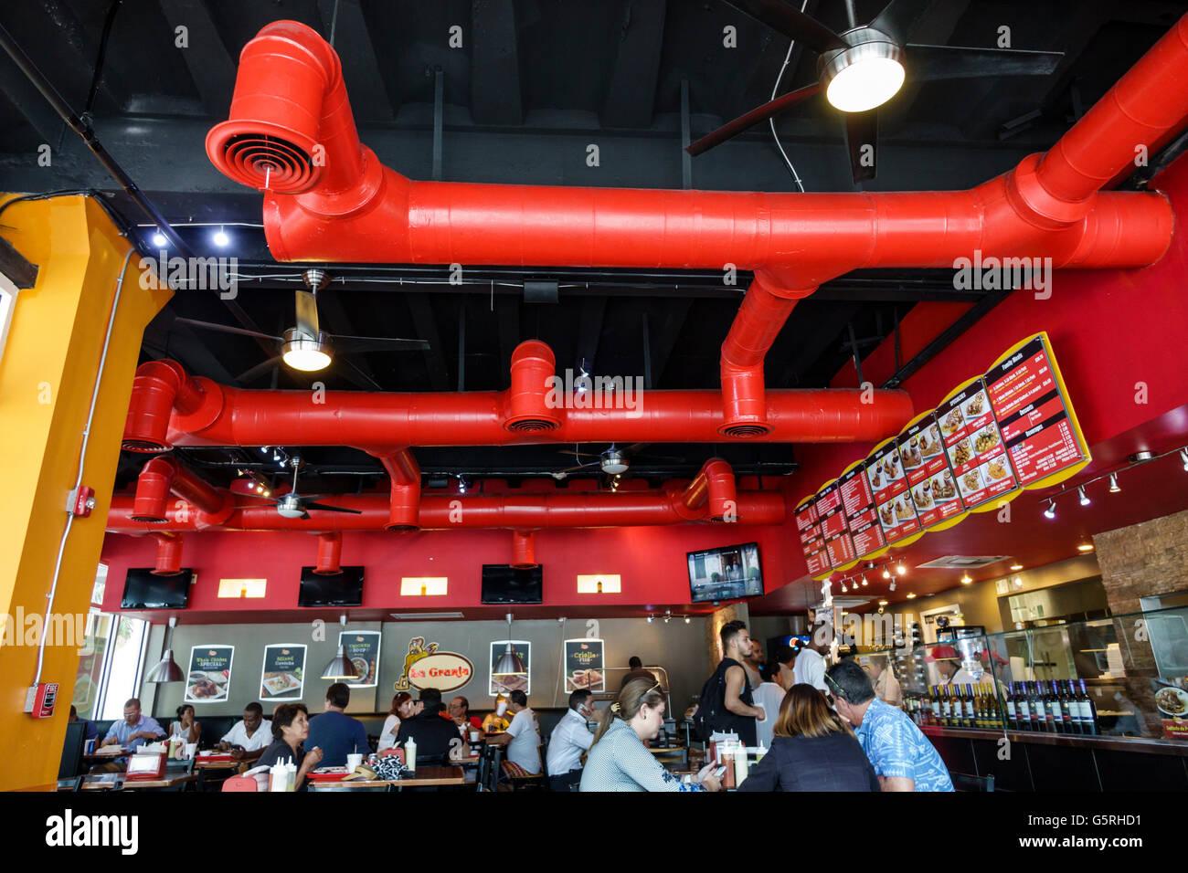 Miami Florida La Granja Downtown Restaurant peruanische Küche im ...