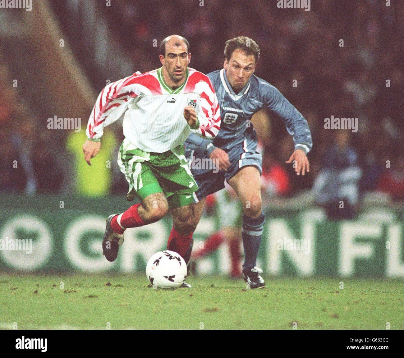 Fussball England Bulgarien Stockfoto Bild 107084560 Alamy
