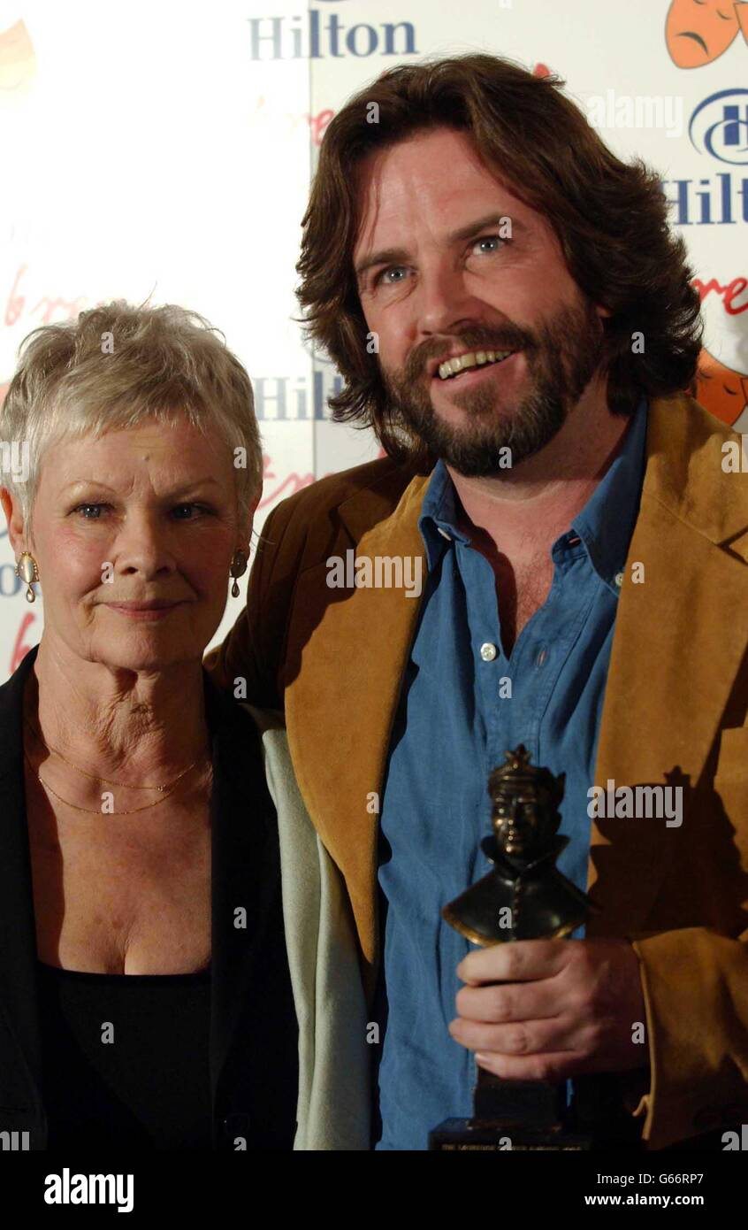 Doran & Dench Olivier Awards Stockfoto