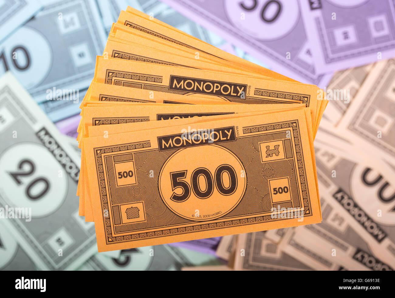 Monopoly Geld Verteilung